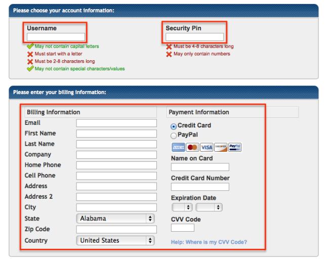 hostgator-username-billing